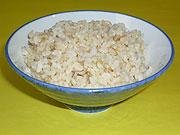 玄米の栄養価をそのまま残した、美味しい米クリン玄米ごはんの炊きあがり!
